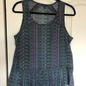 American Eagle Patterned tank, size M